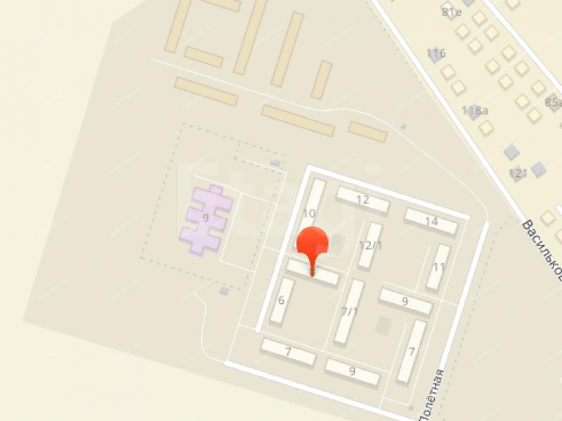 однокомнатная квартира на Ботанической улице дом 8 город Нижний Новгород