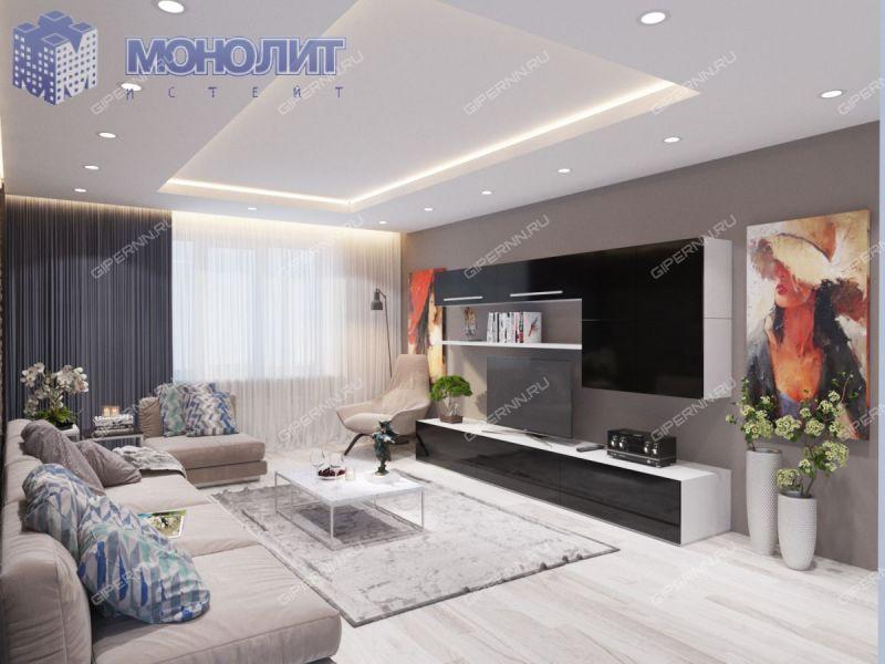 двухкомнатная квартира на улице Комбрига Патоличева дом 37а город Дзержинск