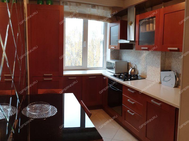 трёхкомнатная квартира на улице Маршала Рокоссовского дом 2