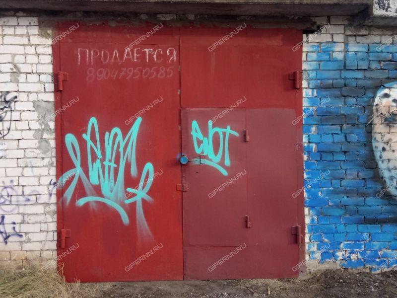 гараж на улице Дьяконова